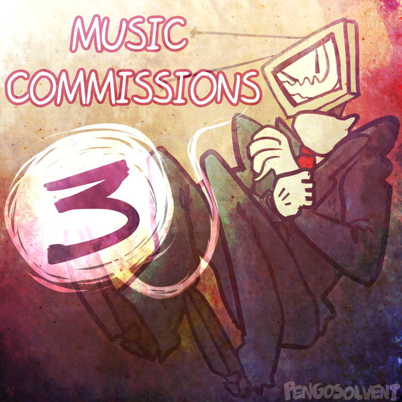 Music Commissions Album 3 Art